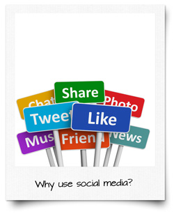 Six reasons why you should use social media