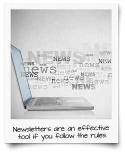 How to create an effective newsletter – part 1