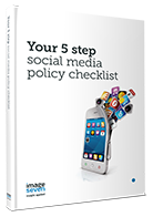 Your 5 step social media policy checklist