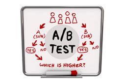 A/B testing for professional services firms